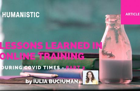 Iulia Buciuman Training